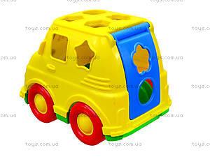 Детский микроавтобус-сортер, 195, детские игрушки