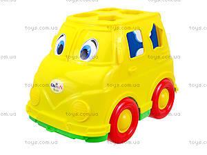 Детский микроавтобус-сортер, 195, магазин игрушек