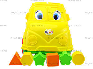 Детский микроавтобус-сортер, 195, toys.com.ua