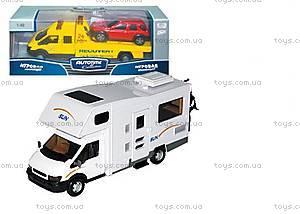Микроавтобус игрушечный «Автодом», 10292-00-CIS
