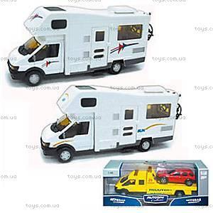 Микроавтобус игрушечный «Автодом», 10292-00-CIS, купить