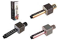Микрофон-караоке юсб зарядка, 3 цвета, M147, фото