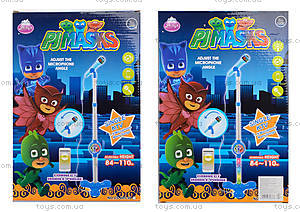 Детский микрофон «PJ Masks», DS-005-3S