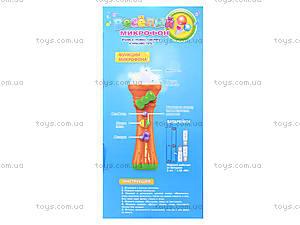 Детская игрушка «Музыкальный микрофон», 7389, купить