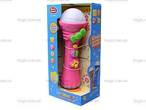 Детская игрушка «Музыкальный микрофон», 7389, отзывы
