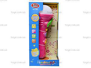 Детская игрушка «Музыкальный микрофон», 7389, цена