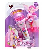 Микрофон «Сердечко» розовый, 772, отзывы