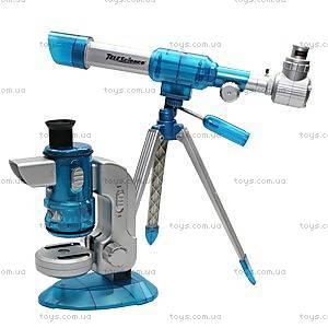 Набор для детей «Телескоп астрономический с микроскопом», 7608-EC