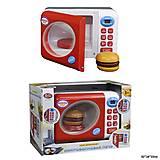 Микроволновая печь с кнопками и бургером, 2305