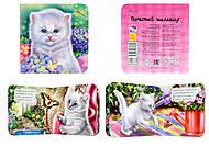 Книжка «Милые зверята: Котёнок», А582003Р, фото