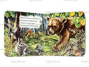Детская книжка про зверей «Медвежонок», А582004Р, купить