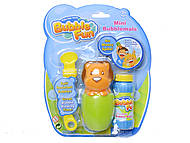 Мыльные пузыри в бутылочке, 60 мл, 10065DHOBB-BF, іграшки