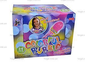 Мыльные пузыри Colorful Bubbles, 24 штуки, 796-24, фото