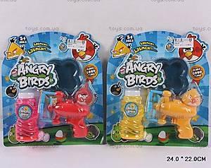 Мыльные пузыри и пистолет Angry Birds, 866-50