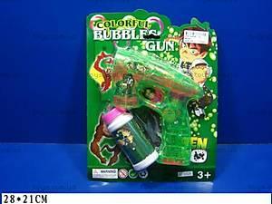 Мыльные пузыри и пистолет «Бен 10», 8802M