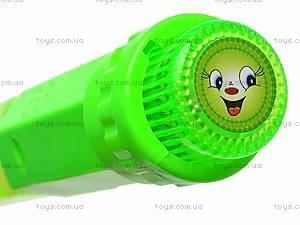 Мыльные пузыри, со световыми эффектами, A-01, детские игрушки