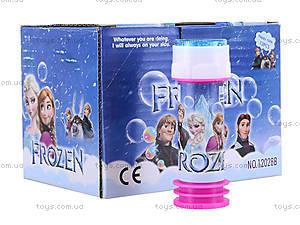 Мыльные пузыри Frozen, 12028B, детские игрушки