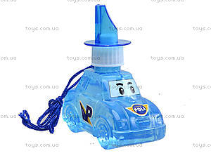 Мыльные пузыри Robocar Poli, 4 цвета, P6-0083, купить