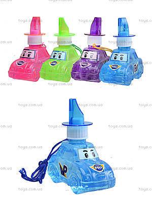 Мыльные пузыри Robocar Poli, 4 цвета, P6-0083