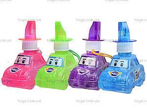Мыльные пузыри Robocar Poli, 4 цвета, P6-0083, игрушки