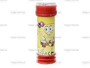 Детские мыльные пузыри «Спанч Боб», 333-15, купить