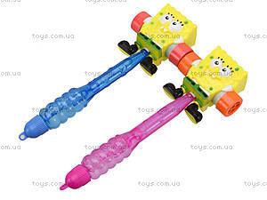 Мыльные пузыри Sponge Bob с молоточком, 111-2, цена