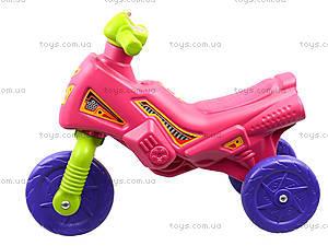 Детская каталка-мотоцикл «Мини-байк», 4425, детские игрушки