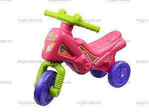 Детская каталка-мотоцикл «Мини-байк», 4425, магазин игрушек