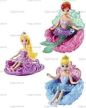 Мини-кукла «Принцесса Дисней» на водном троне, BBD23, фото