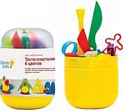 Мини-набор для лепки «Тесто-пластилин 6 цветов», TA1065, фото