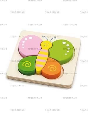 Детский мини-пазл «Бабочка», 50170