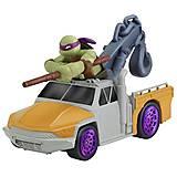 Мини-транспорт «Донателло в грузовике» серии Черепашки-ниндзя, 97223, купить