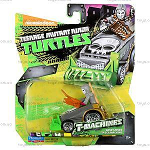 Игрушечный Кейси Джонс в снегоуборочной машине серии «Черепашки-ниндзя», 97222, купить