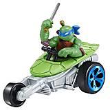 Мини-транспорт «Леонардо на мотоцикле Стелс» серии Черепашки-ниндзя, 97216, игрушки