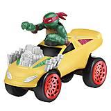 Игрушечный Рафаэль в грузовике-монстр серии «Черепашки-ниндзя», 97214, toys.com.ua