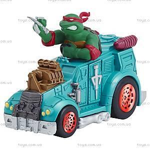 Игрушечный Рафаэль в военном грузовике серии «Черепашки-ниндзя», 97224