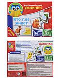 Мини-игры для детей «Кто где живет», VT1309-04