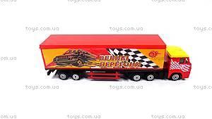 Игрушечный грузовик «Фура КАМАЗ», SB-15-04-С-3WB, купить