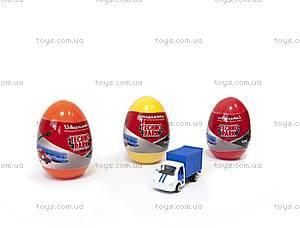 Минимодель «Машинка в яйце», SB-15-55, игрушки