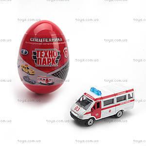 Минимодель «Машинка в яйце», SB-15-55, фото
