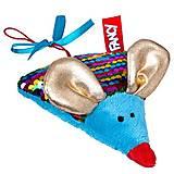 """Мягкая игрушка """"Мышка Сырник"""" с пайетками, KMTOU"""