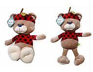 Мягкая игрушка «Мишка Фрутти», К417С, фото