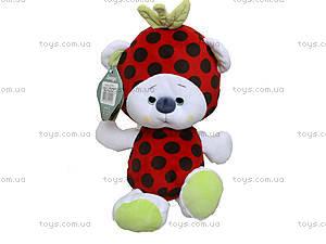 Маленькая мягкая игрушка мишка Фрутти, К417ВЕ, купить