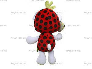 Маленькая мягкая игрушка мишка Фрутти, К417ВЕ, фото