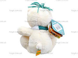 Плюшевый мишка «Хеппи с шарфом», К369С, фото