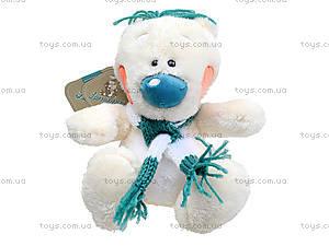 Плюшевый мишка «Хеппи с шарфом», К369С, отзывы