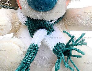 Плюшевый мишка «Хеппи с шарфом», К369С, цена