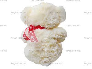 Плюшевый медведь с сердечками, 647938, фото
