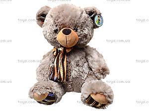 Плюшевый медведь с бантиком, 397636, отзывы