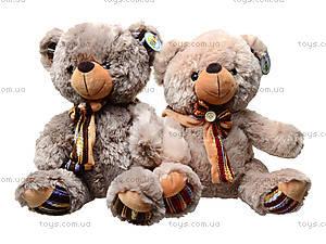 Плюшевый медведь с бантиком, 397636, игрушки